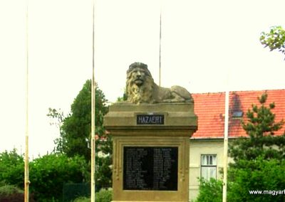 Nemesócsa I.vh emlékmű 2006.05.04. küldő-Szabó Tamás Sila (1)