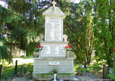 Nemesbük világháborús emlékmű 2014.06.09. küldő- Méri (1)