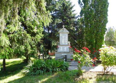 Nemesbük világháborús emlékmű 2014.06.09. küldő- Méri