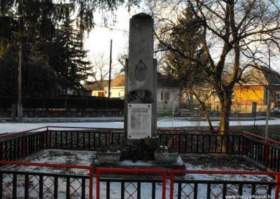 Nemescsó I.vh emlékmű 2009.01.16.küldő-Gyurkusz