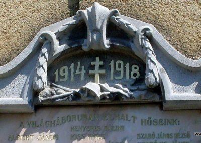 Nemesgulács, templom világháborús emléktáblák 2012.08.04. küldő-Nerr (2)
