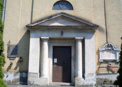 Nemesgulács, templom világháborús emléktáblák 2012.08.04. küldő-Nerr