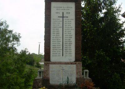 Nemeshany világháborús emlékmű 2008.05.04.küldő-Magyar Benigna (1)