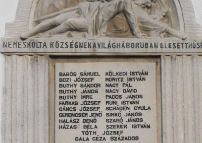Nemeskolta világháborús emléktáblák 2009.01.19.küldő-gyurkusz (1)