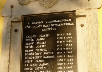 Nemespátró világháborús emléktáblák 2014.10.10. küldő-Sümec (10)