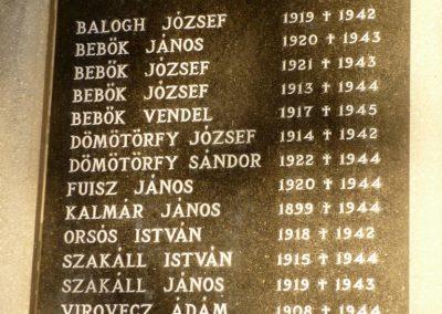 Nemespátró világháborús emléktáblák 2014.10.10. küldő-Sümec (12)