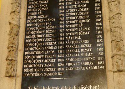 Nemespátró világháborús emléktáblák 2014.10.10. küldő-Sümec (4)