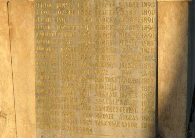 Nemespátró világháborús emléktáblák 2014.10.10. küldő-Sümec (7)