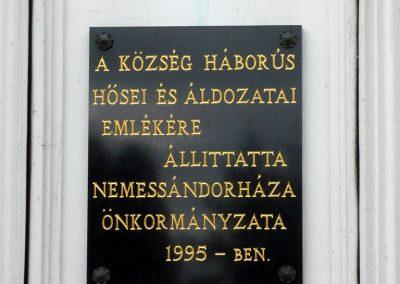 Nemessándorháza világháborús emlékmű 2013.10.30. küldő-Sümec (7)