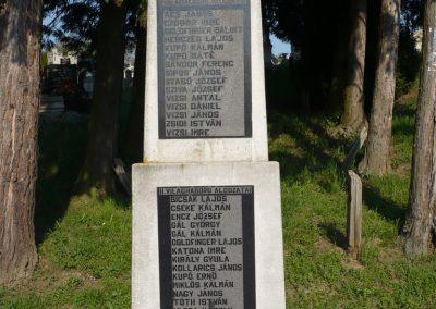 Nemesszentandrás világháborús emlékmű 2009.04.12.küldő-Sümec