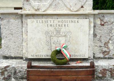 Nemesvámos I.vh emlékmű 2010.05.30. küldő-Ágca (4)