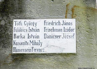 Nemesvid I. világháborús emlékmű 2014.08.31. küldő-Huber Csabáné (4)