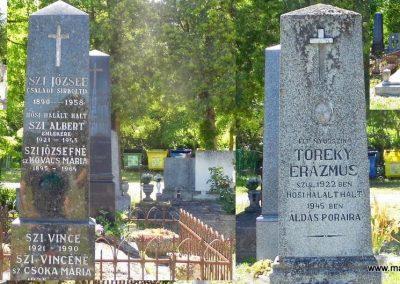 Nemesvita Hősök sírjai a II. világháborús emlékmű mellett. 2014.06.09. küldő-Méri
