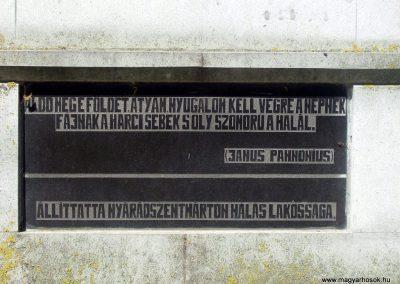 Nyárádszentmárton világháborús emlékmű 2011.08.14. küldő-Csiszár Lehel (5)