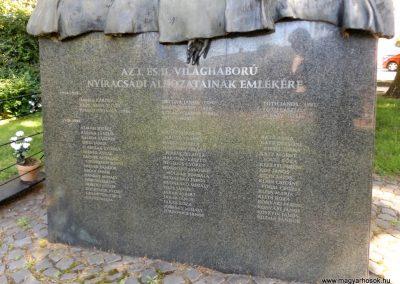 Nyíracsád világháborús emlékmű 2017.06.22. küldő-kalyhas (2)
