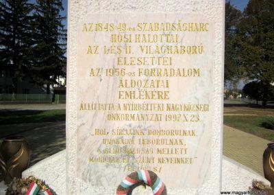 Nyírbéltek hősi emlékmű 2013.10.11. küldő-kalyhas (4)