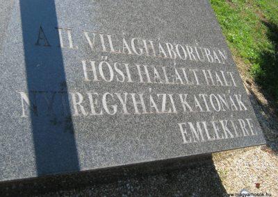 Nyíregyháza Északi temető. II. világháborús emlékmű 2017.07.16. küldő-Emese (1)
