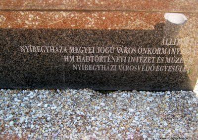 Nyíregyháza Északi temető. II. világháborús emlékmű 2017.07.16. küldő-Emese (2)