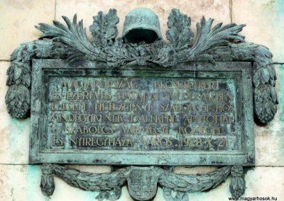 Nyíregyháza I. világháborús emlékmű 2014.02.07. küldő-kalyhas (4)