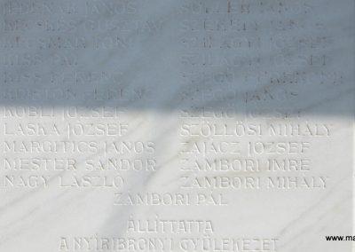 Nyíribrony I. és II. világháborús emlékmű 2013.07.08. küldő-kalyhas (12)