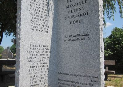 Nyírjákó világháborús emlékmű 2013.07.08. küldő-kalyhas (2)