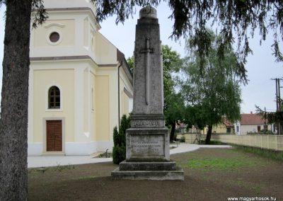 Nyírkáta I. világháborús emlékmű 2014.04.25. küldő-kalyhas (2)