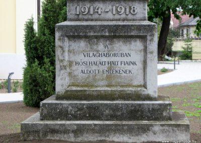 Nyírkáta I. világháborús emlékmű 2014.04.25. küldő-kalyhas (3)