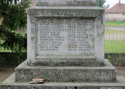 Nyírkáta I. világháborús emlékmű 2014.04.25. küldő-kalyhas (5)
