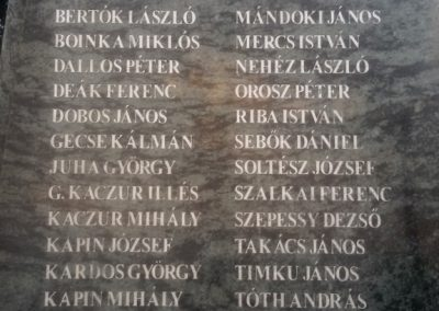 Nyírkarász új világháborús emlékmű 2017.08.06. küldő-Eszterhai Zsuzsa (3)