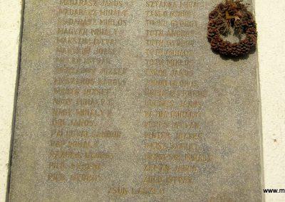 Nyírlugos I. világháborús emléktáblák 2014.02.07. küldő-kalyhas (4)