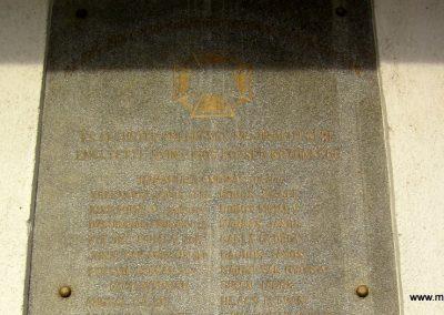 Nyírlugos I. világháborús emléktáblák 2014.02.07. küldő-kalyhas (5)