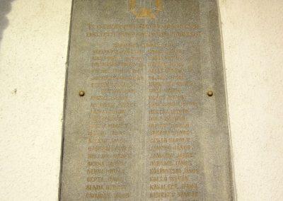 Nyírlugos I. világháborús emléktáblák 2014.02.07. küldő-kalyhas (7)