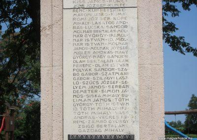 Nyírmada I. világháborús emlékmű 2013.07.08. küldő-kalyhas (5)