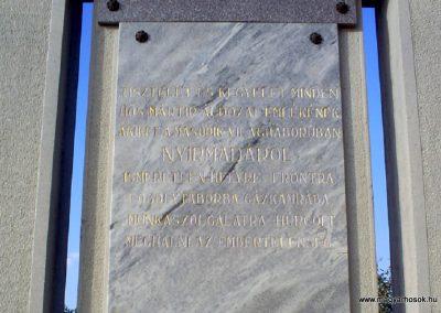 Nyírmada II. világháborús emlékmű 2009.09.04. küldő-Ősz Béláné