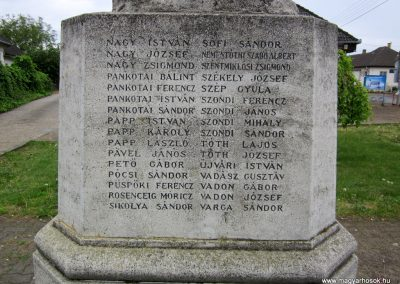 Nyírmeggyes I. világháborús emlékmű 2014.04.25. küldő-kalyhas (9)