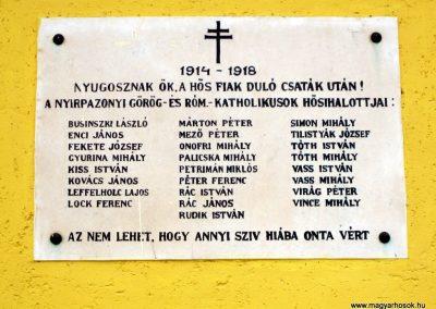 Nyírpazony I. világháborús emléktábla 2013.05.23. küldő-kalyhas (2)