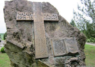 Nyírpazony világháborús emlékmű 2013.05.23. küldő-kalyhas (3)