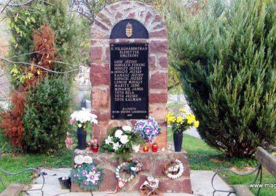 Nyim II.vh emlékmű 2011.11.01. küldő-Szilsomogy (1)