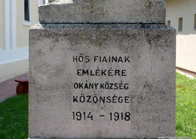 Okány világháborús emlékmű 2014.07.17. küldő-Sümec (2)