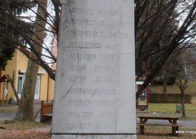 Orfű-Mecsekrákos II.vh emlékmű 2012.01.01. küldő-Bagoly András (6)