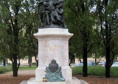 Orosháza felújított I. világháborús emlékmű 2014.10.25. küldő-Emese (2)