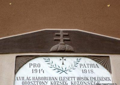 Orosztony I.vh emléktábla 2010.10.04. küldő-Sümec (2)