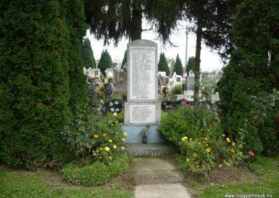 Orosztony II.vh emlékmű 2010.10.04. küldő-Sümec