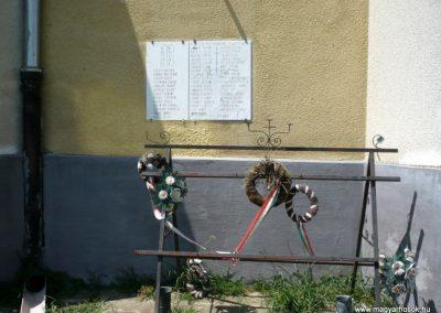 Osztopán II.vh emléktábla 2010.08.04. küldő-Sümec
