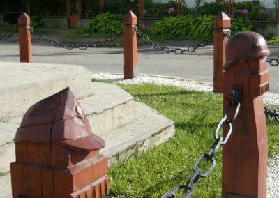 Pácin világháborús emlékmű- felújítás után 2010.07.04. küldő-Ágca (4)