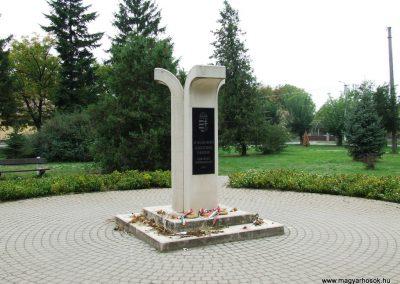 Páhi világháború emlékmű 2007.10.04. küldő-Markó Péter