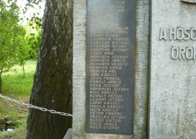 Páka világháborús emlékmű 2009.05.23.küldő-Sümec (1)