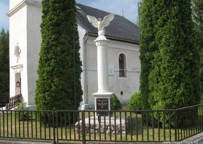Pálháza Hősi emlékmű 2009.05.22.küldő-kalyhas
