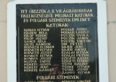 Páli világháborús emléktáblák 2009.04.26.küldő-Ágca (3)