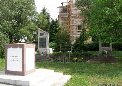 Pápateszér világháborús emlékművek 2010.07.21. küldő-kalyhas (10)